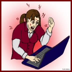 angry-writer